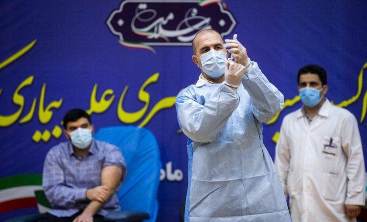 Vaccine iran واکسیناسیون کرونا با واکسن روسی اسپوتنیک V در ایران آغاز شد اخبار IT