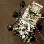 ناسا تصویری از لحظه فرود نفسگیر کاوشگر استقامت بر سطح مریخ منتشر کرد