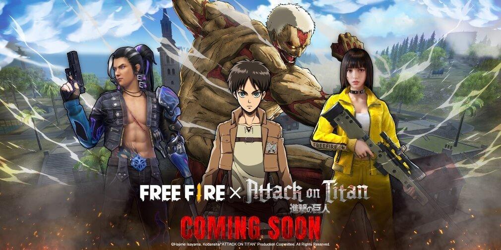 garena free fire ios android attack on titan هفت سنگ؛ حمله به تایتانها اخبار IT