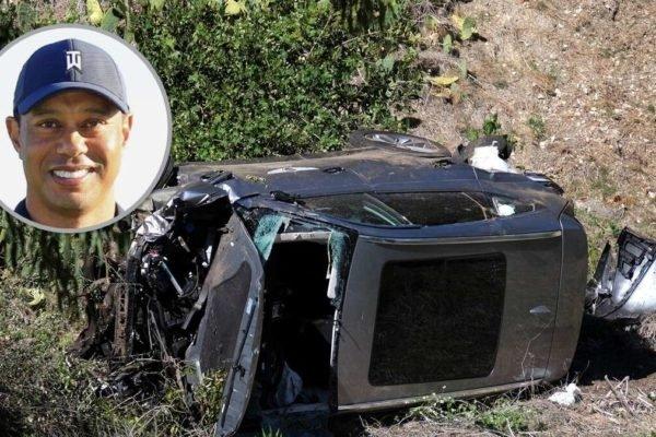 تصادف سنگین تایگر وودز به نفع برند جنسیس تمام شد