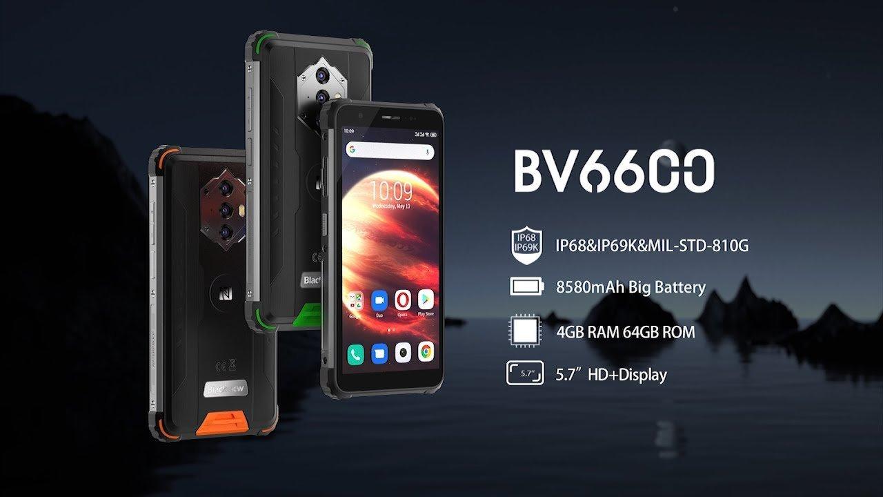 maxresdefault 7 گوشی سخت جان بلک ویوBV6600 با باتری ۸۵۸۰ میلی آمپر ساعتی معرفی شد اخبار IT
