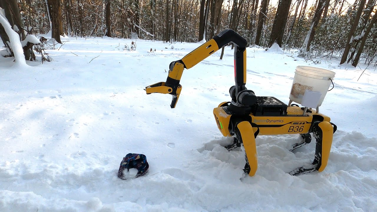 درختکاری سگ رباتیک اسپات به لطف اضافه شدن بازو [تماشا کنید]