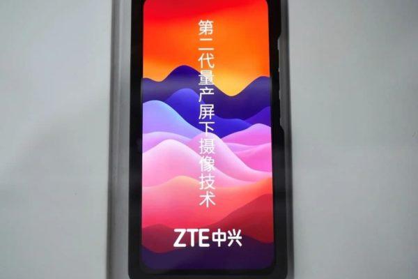 ZTE از اولین سیستم تشخیص چهره زیر نمایشگر رونمایی کرد