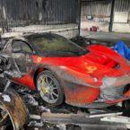 آتشسوزی کلکسیون خودرو ۲۰ میلیون دلاری در انگلستان