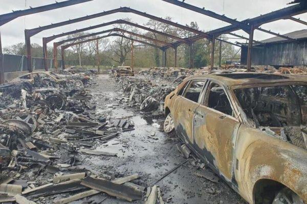آتشسوزی کلکسیون خودرو