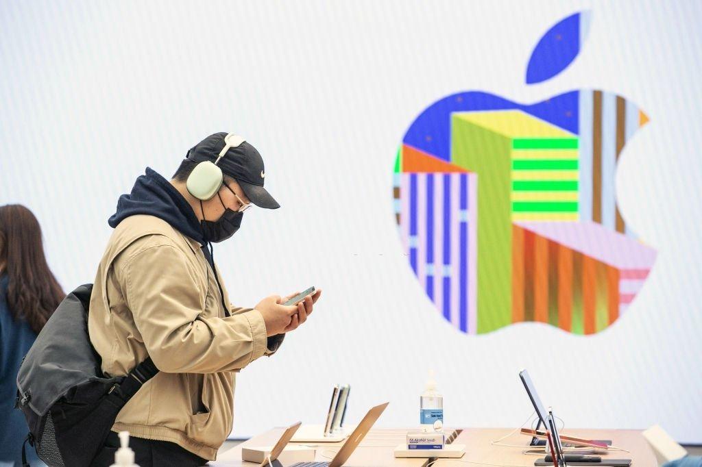 ارزش بازار اپل برای اولین بار در ۲۰۲۱ به زیر ۲ تریلیون دلار رسید