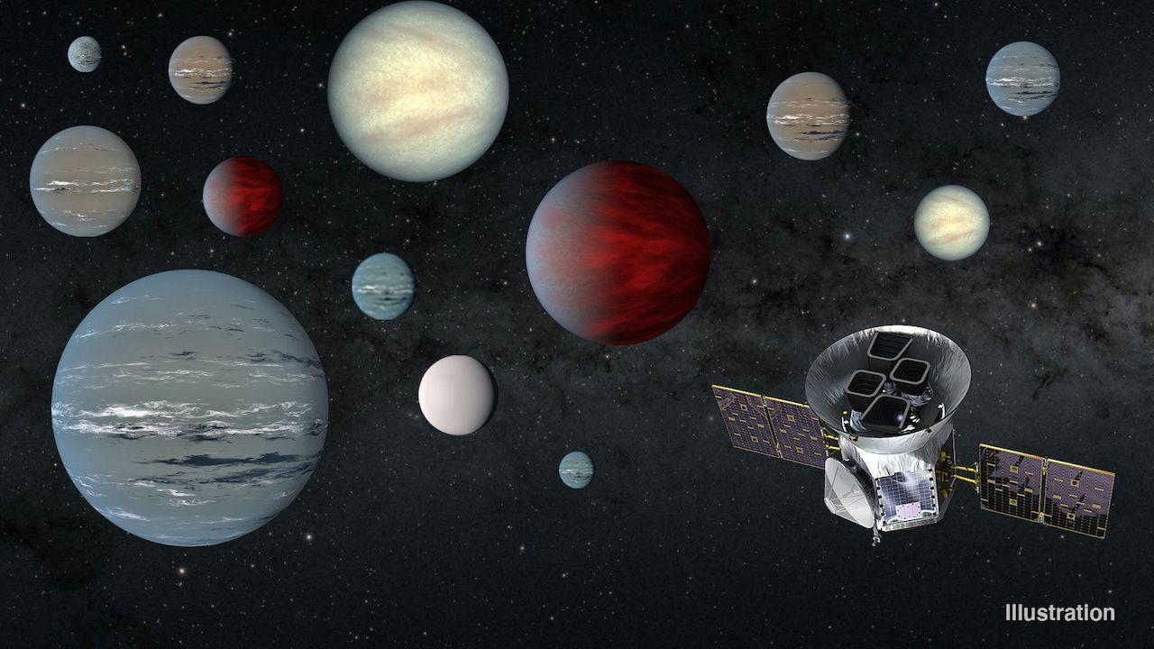 فضاپیمای TESS ناسا تا به امروز بیش از ۲۲۰۰ سیاره بالقوه شناسایی کرده است