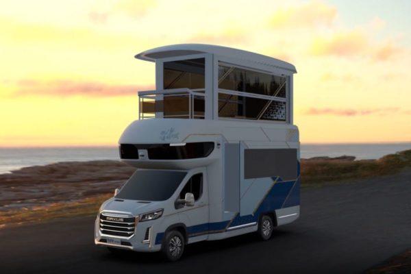 با مکسوس Life Home V90 Villa Edition آشنا شوید؛ یک ویلای لوکس چهار چرخ [تماشا کنید]