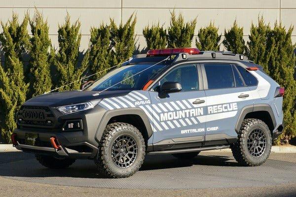 تویوتا RAV4 5D Mountain Rescue معرفی شد؛ یک خودروی همهکاره برای تیمهای نجات