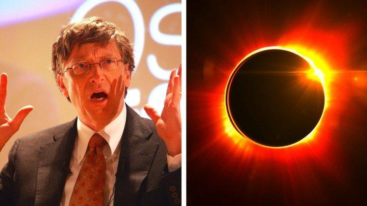 بیل گیتس برای مقابله با تغییرات اقلیمی میخواهد تابش آفتاب به زمین را ضعیف کند