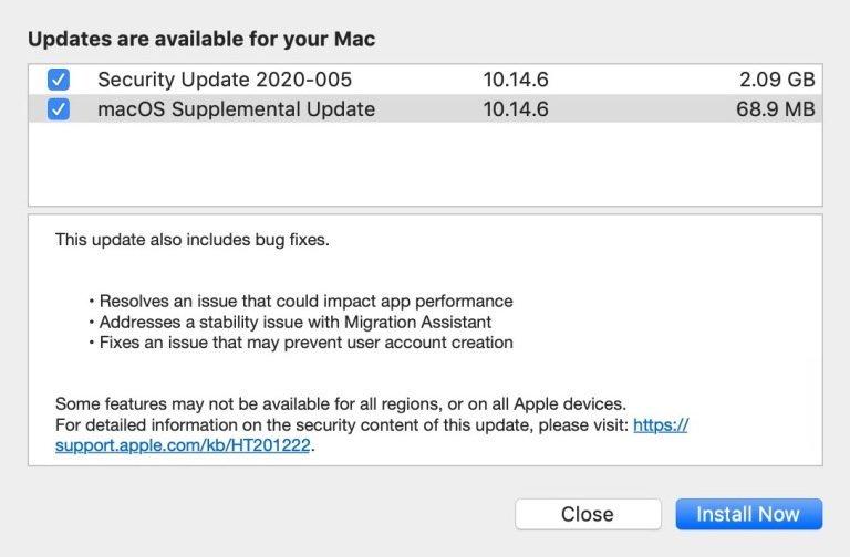 بروزرسانی اپل