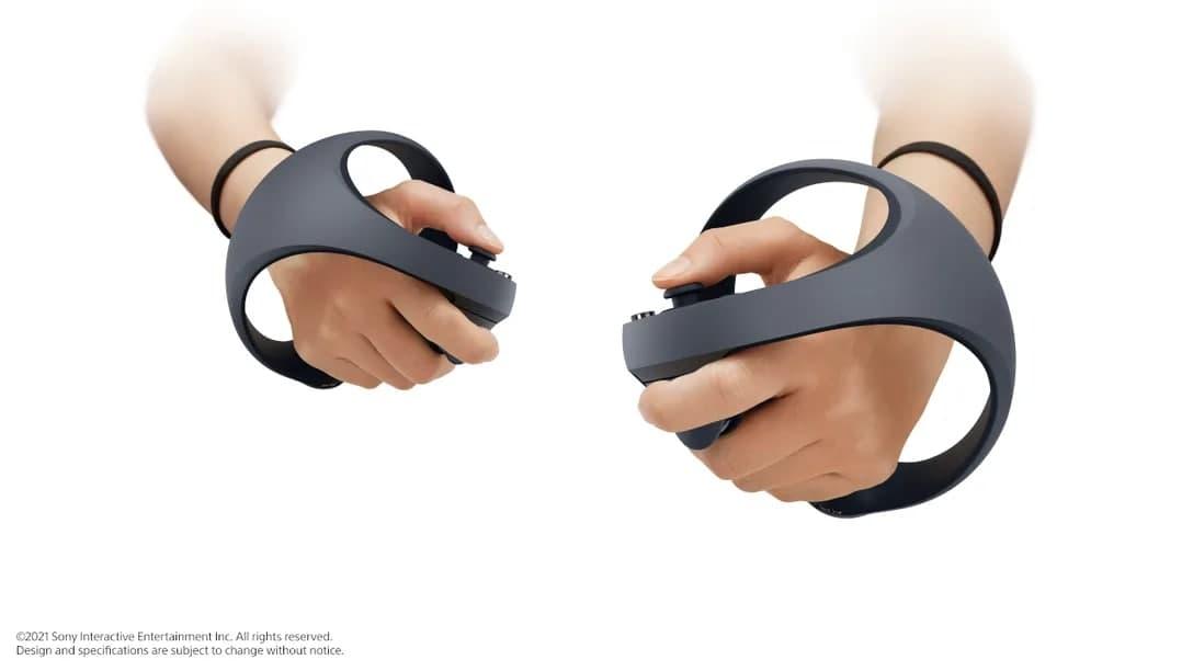 سونی از کنترلرهای نسل جدید هدست پلی استیشن VR رونمایی کرد
