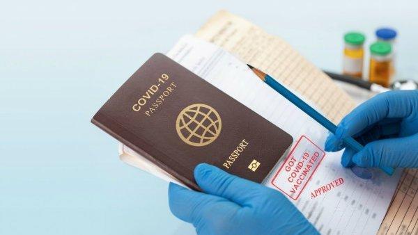 گذرنامه واکسن کرونا