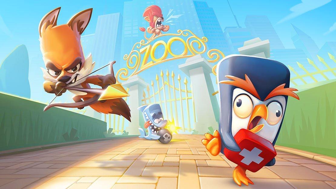 معرفی بازی Zooba؛ مبارزه در باغوحش