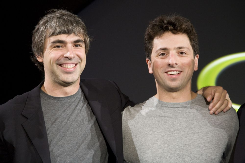 بنیانگذاران گوگل