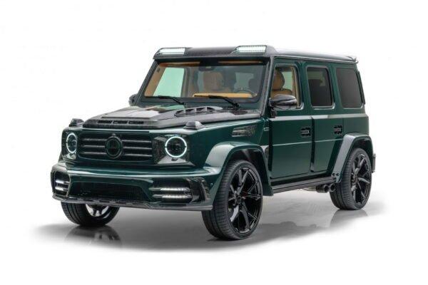 تیونینگ نیم میلیون دلاری منصوری برای مرسدس بنز AMG G63
