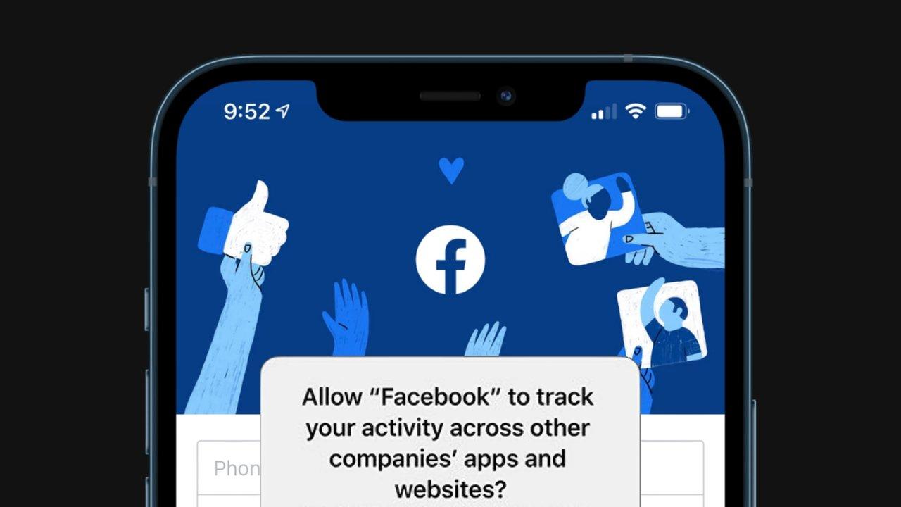 پیغام دریافت مجوز ردیابی کاربر در اپ فیسبوک