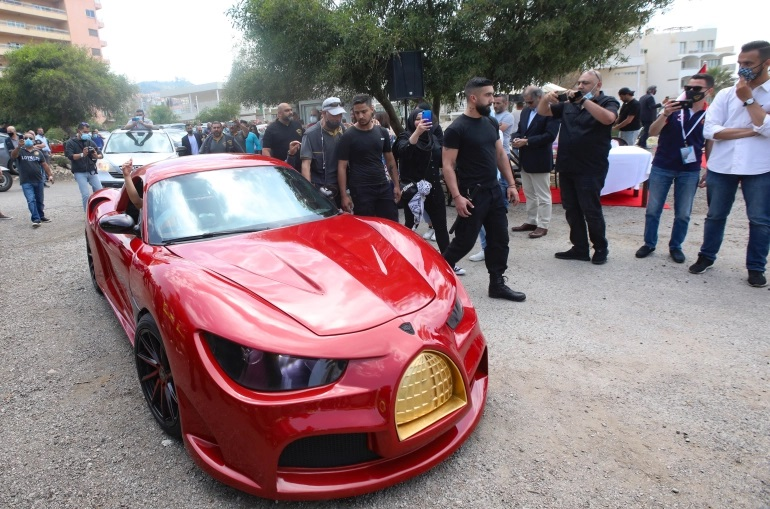 خودرو برقی لبنان
