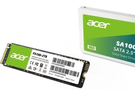 ایسر با همکای یک شرکت چینی وارد بازار حافظه SSD و رم شد