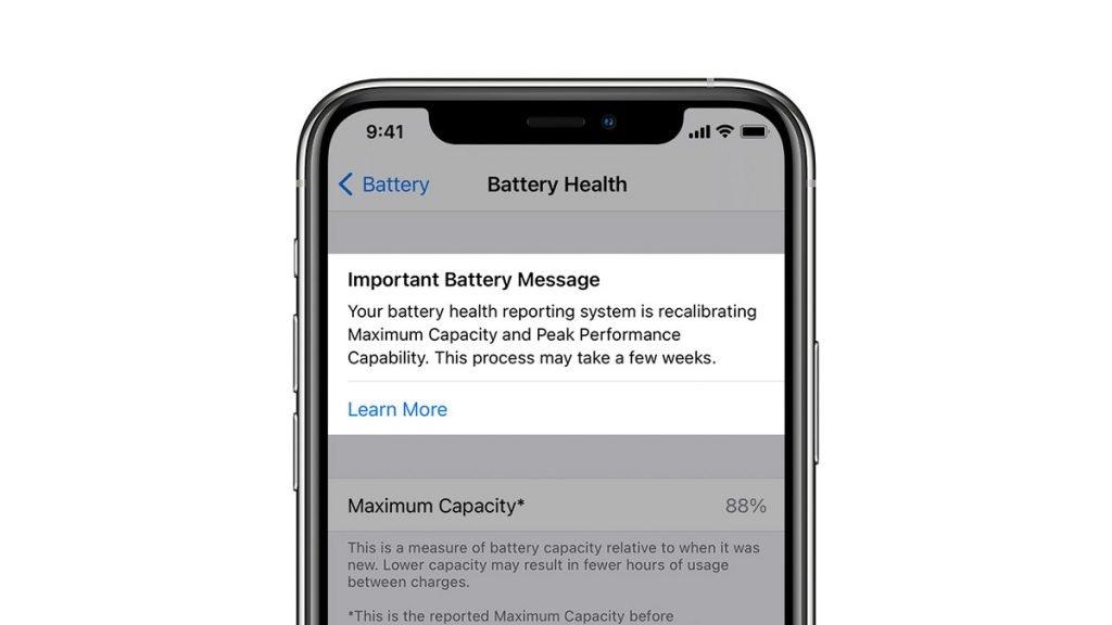 ابزار کالیبراسیون مجدد باتری اپل