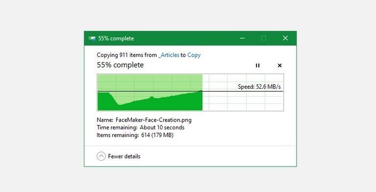 افزایش سرعت کپی در ویندوز