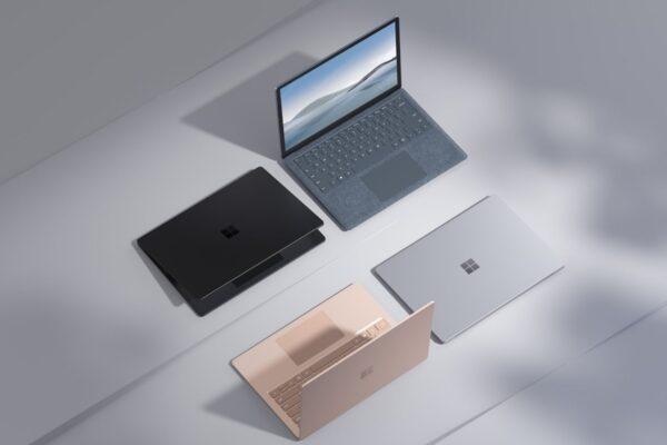 مایکروسافت از سرفیس لپتاپ ۴ با پردازندههای نسل یازدهم اینتل رونمایی کرد