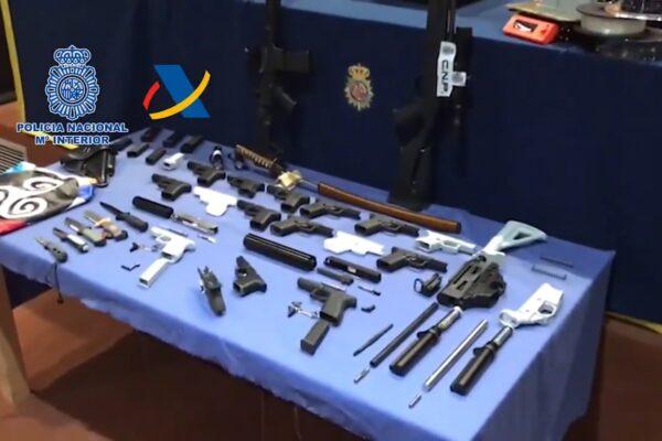 پلیس اسپانیا یک کارگاه تولید سلاح با پرینتر سه بعدی را منهدم کرد [تماشا کنید]