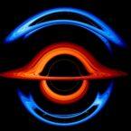 ناسا ویدیویی از نحوه تاثیر دو سیاهچاله روی یکدیگر منتشر کرد