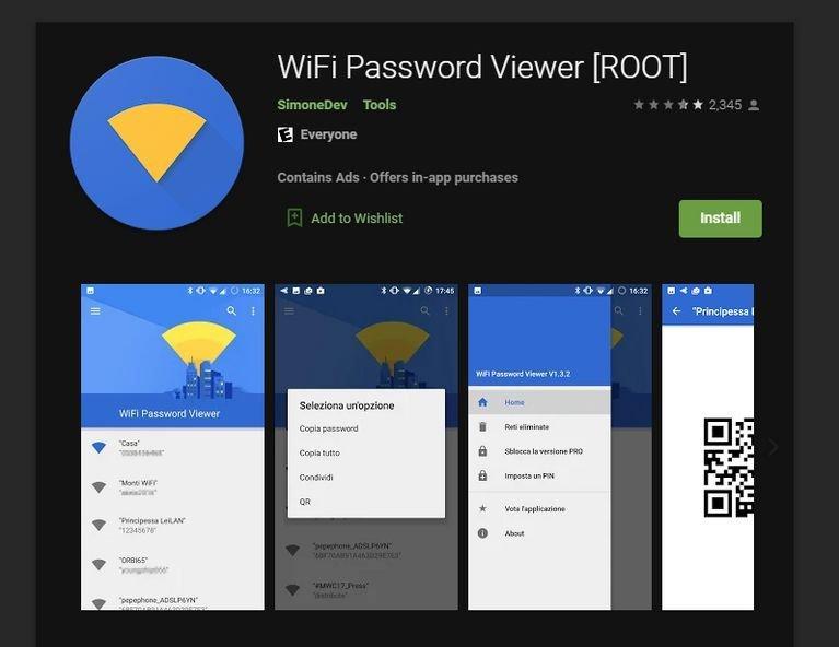 مشاهده رمز وای فای ذخیره شده در گوشی