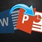 چگونه یک فایل ورد را به پاورپوینت تبدیل کنیم؟