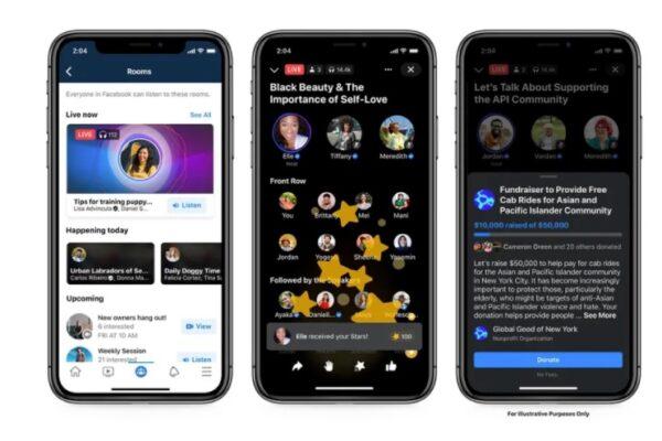 قابلیتهای صوتی جدید فیسبوک برای رقابت با کلاب هاوس معرفی شدند