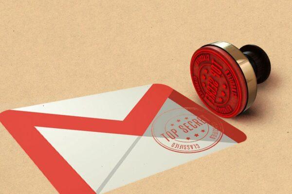 چگونه در جیمیل ایمیل محرمانه بفرستیم؟
