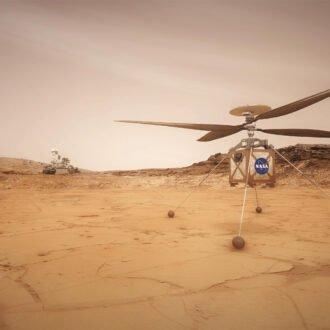 بلندپروازی با نبوغ: هلیکوپتر Ingenuity ناسا با موفقیت در سیاره سرخ به پرواز درآمد