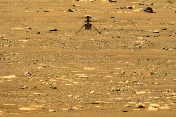 هلیکوپتر «نبوغ» ناسا از دومین پرواز خود در مریخ سربلند بیرون آمد [تماشا کنید]