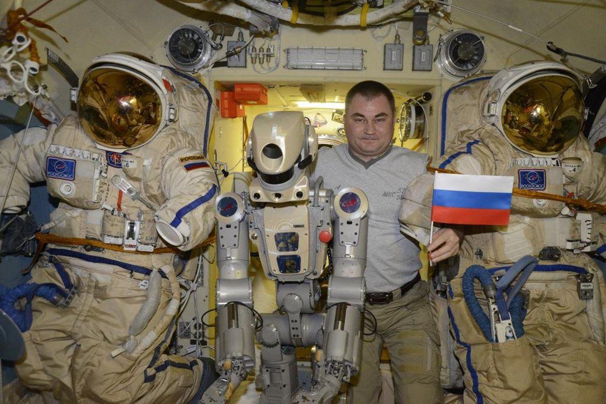 فضانورد روسی در ایستگاه فضایی بینالمللی