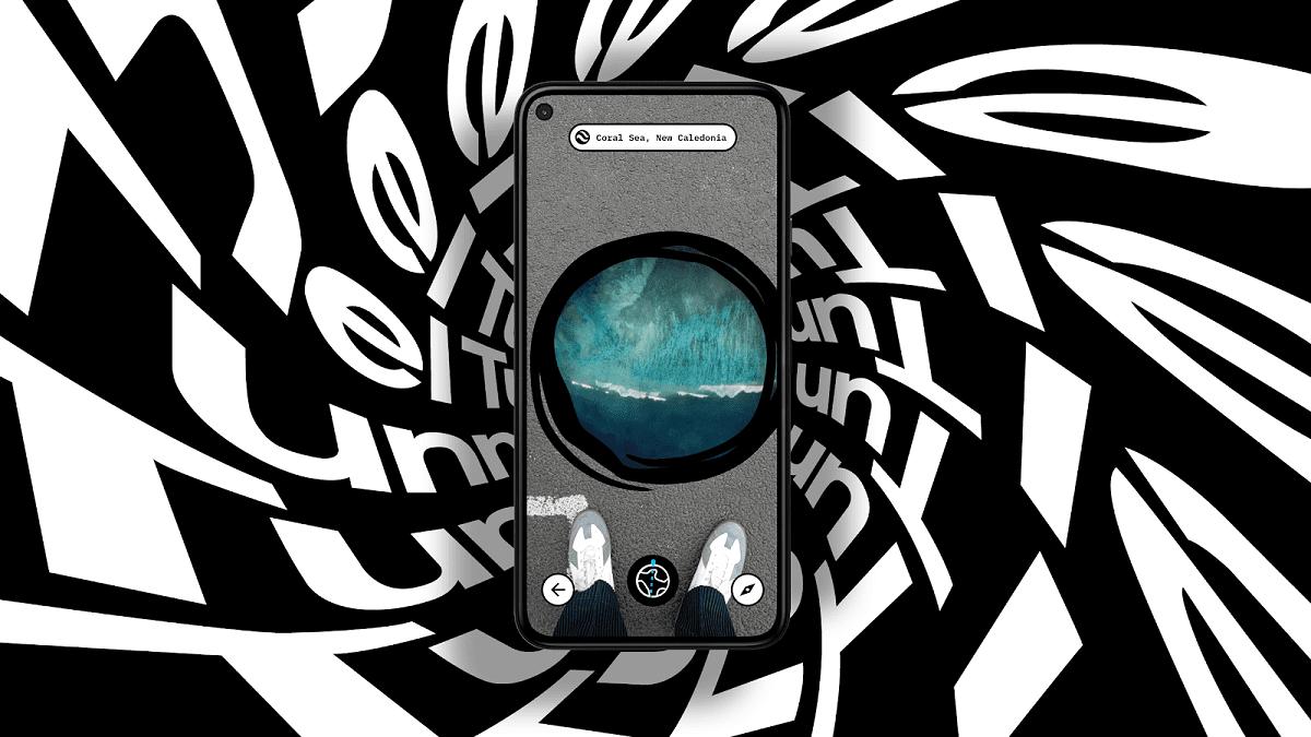با برنامه جدید واقعیت افزوده گوگل در زمین تونل بزنید و به آن سوی کره زمین سفر کنید