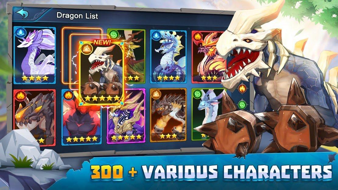بازی Summon Dragons