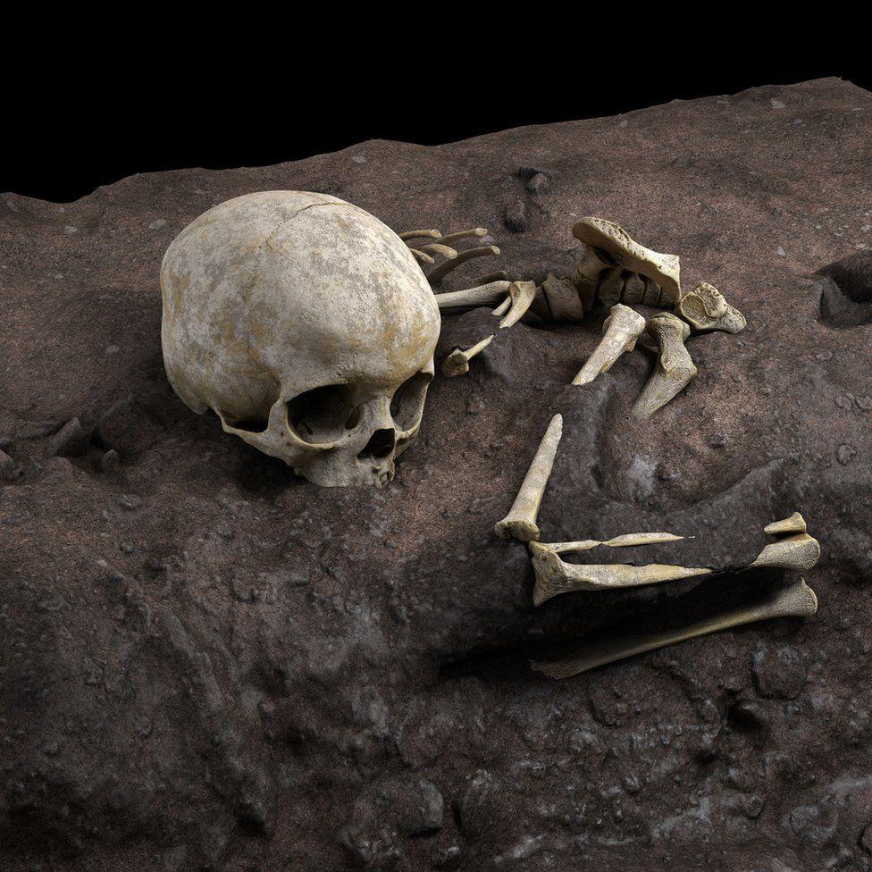 متوتو: ماجرای قبر متعلق به کودکی دو ساله که قدیمیترین تدفین یافت شده در آفریقاست