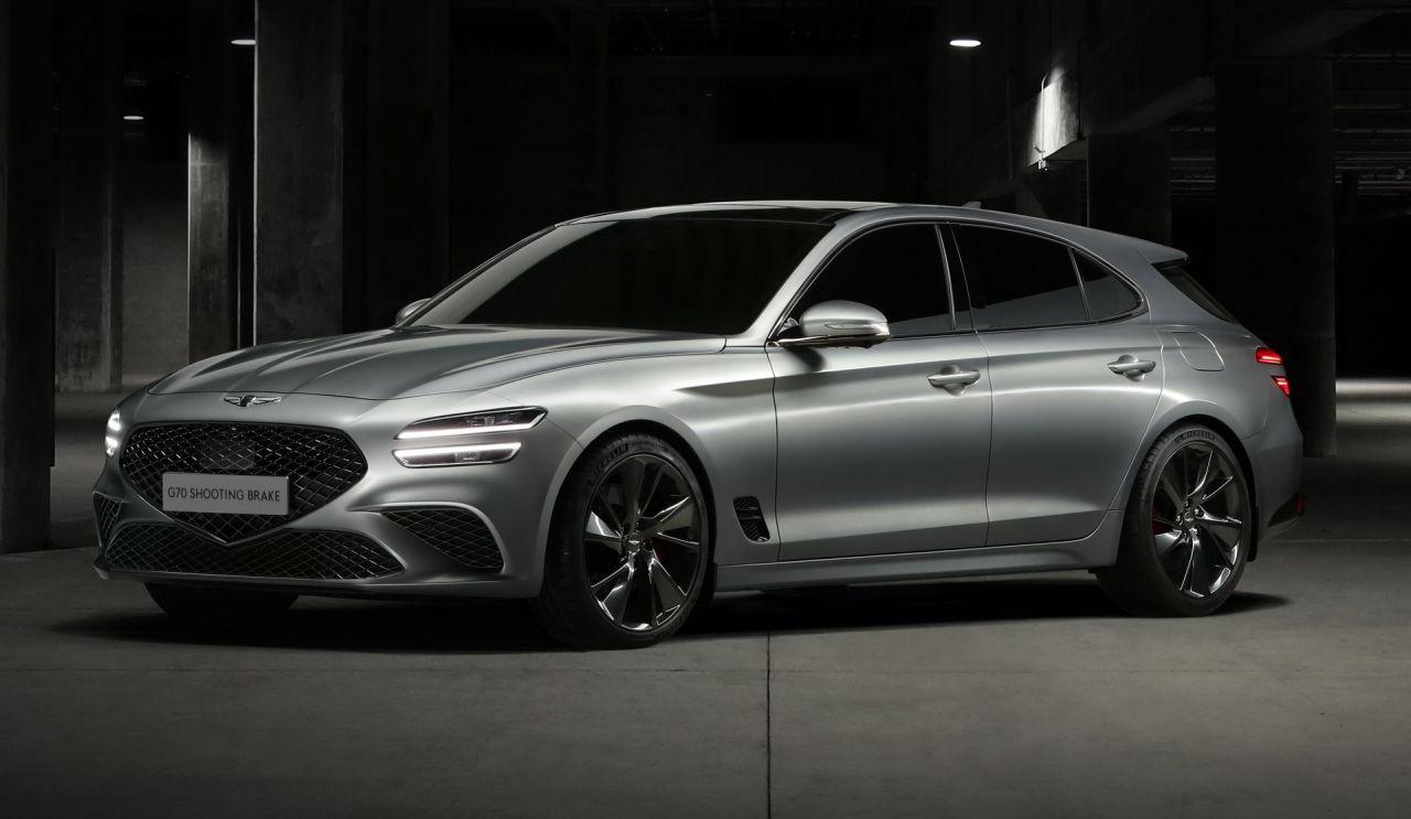 جنسیس G70 شوتینگ بریک معرفی شد؛ یک اتومبیل زیبا برای قاره اروپا