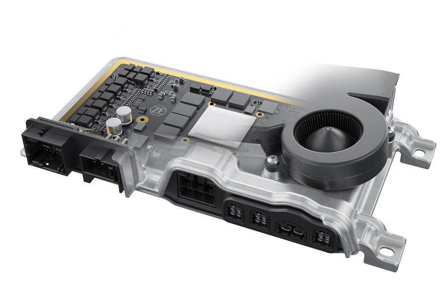سوپر کامپیوتر ZF برای خودروهای خودران معرفی شد؛ سرعت پردازش قابل قیاس با مغز انسان