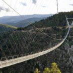 افتتاح طولانیترین پل معلق عابر پیاده جهان در پرتغال
