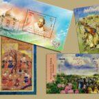 شرکت پست: تمبرها به روی پاکتها و مرسولات پستی برمیگردند
