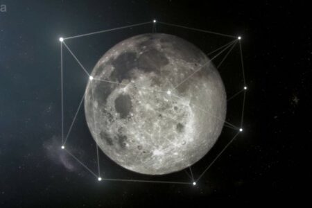 سازمان فضایی اروپا میخواهد یک شبکه GPS برای ماه بسازد