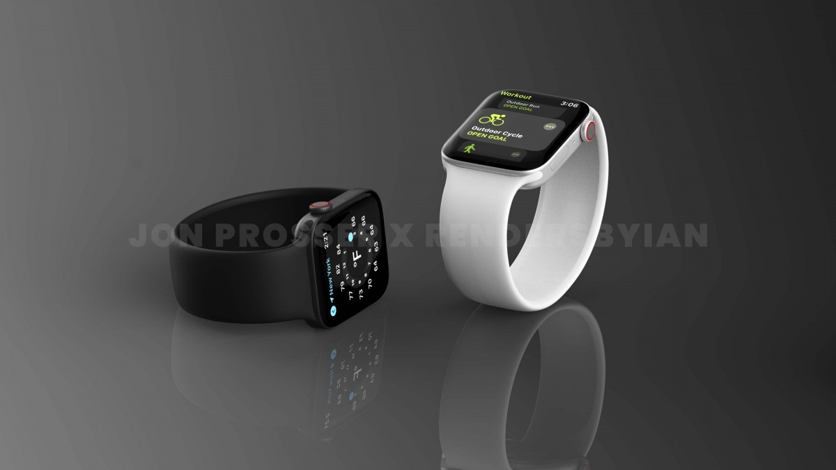 Apple Watch Series 7 4 - اپل واچ سری ۷ در نسخههای ۴۱ و ۴۵ میلیمتری از راه میرسد