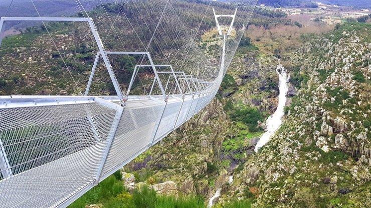طولانیترین پل معلق عابر پیاده