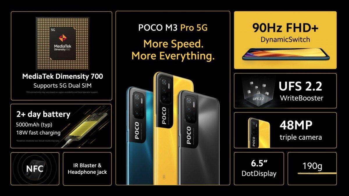 پوکو M3 پرو 5G