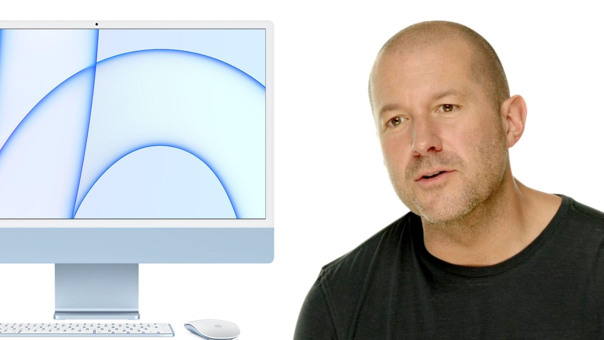 جانی آیو در طراحی آیمک ۲۴ اینچی M1 اپل نقش داشته است