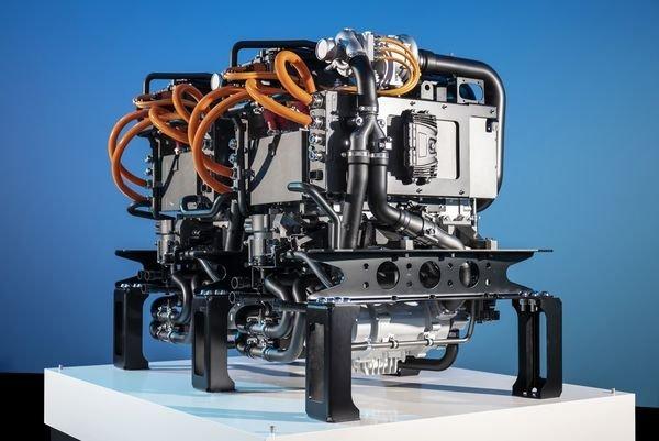 موتور هیدروژن سوز بنز