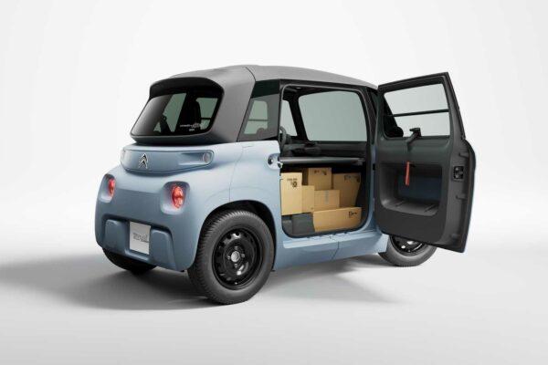 سیتروئن My Ami Cargo معرفی شد؛ خودرویی اشتراکی بدون نیاز به گواهینامه