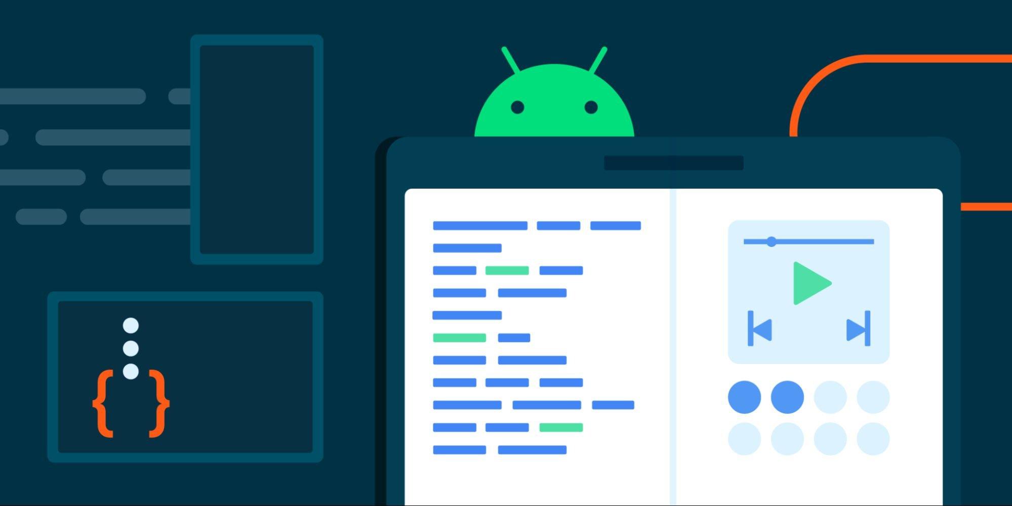گوگل به توسعه اپلیکیشنهای اندرویدی برای نمایشگرهای بزرگ کمک میکند